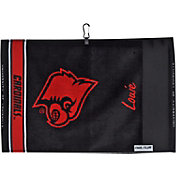 Team Effort Louisville Cardinals Jacquard Golf Towel