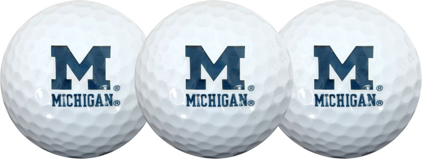 Team Effort Michigan Wolverines Golf Balls - 3-Pack