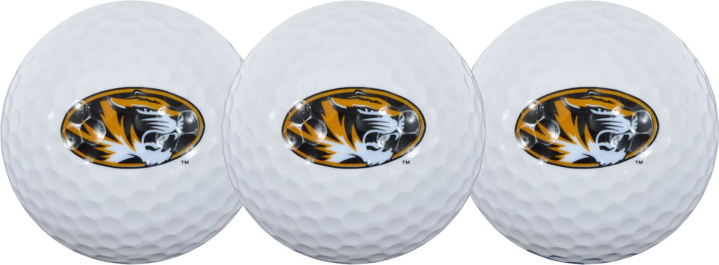 Team Effort Missouri Tigers Golf Balls - 3-Pack