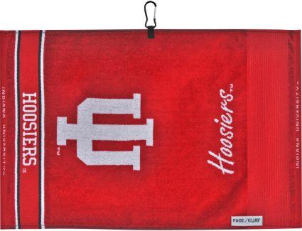 Team Effort Face/Club Indiana Hoosiers Jacquard Towel