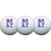 Team Effort Northwestern Wildcats Golf Balls - 3-Pack