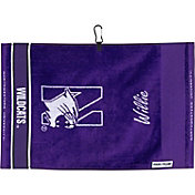Team Effort Northwestern Wildcats Jacquard Golf Towel