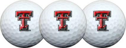 Team Effort Texas Tech Red Raiders NCAA Golf Balls - 3 Pack