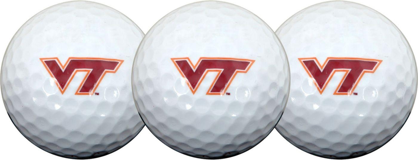 Team Effort Virginia Tech Hokies Golf Balls - 3-Pack