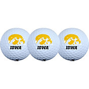 Team Effort Iowa Hawkeyes Golf Balls - 3-Pack