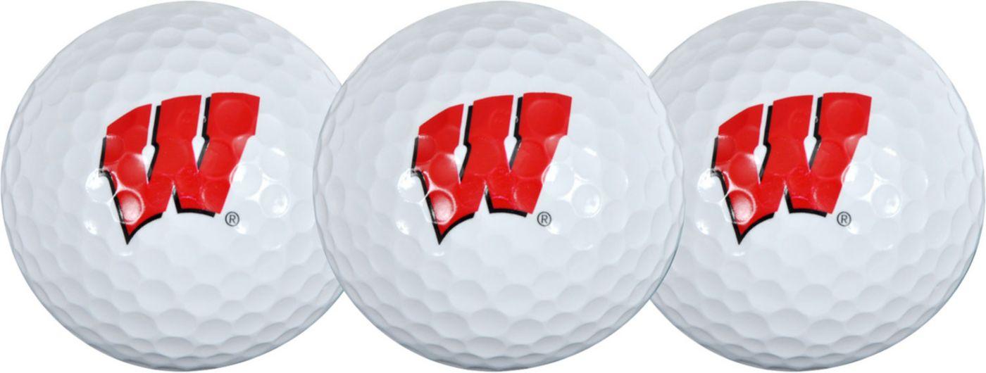 Team Effort Wisconsin Badgers Golf Balls - 3-Pack