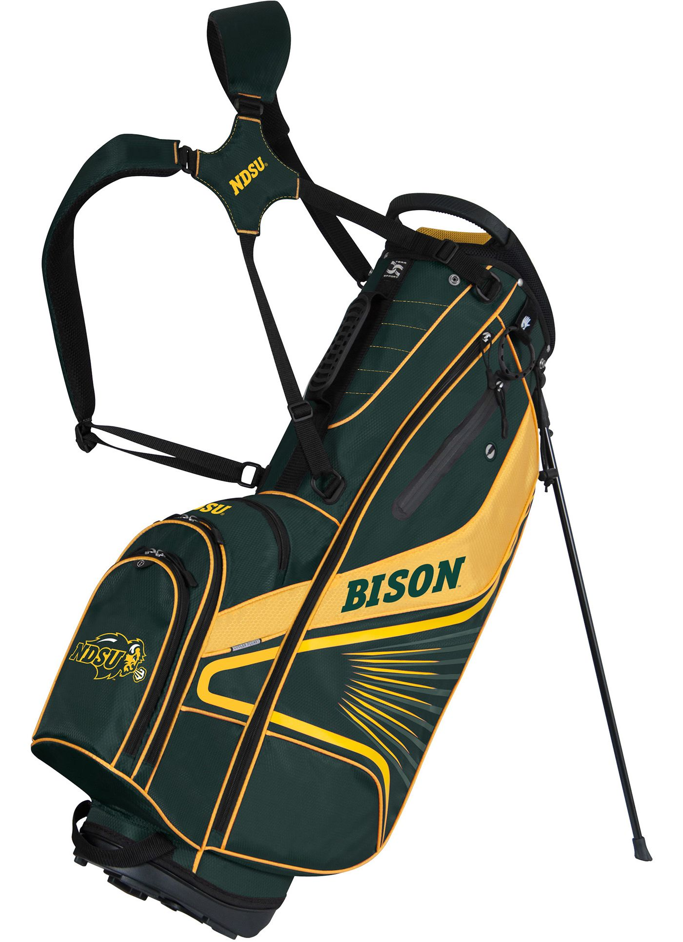 Team Effort GridIron III North Dakota Stand Bag