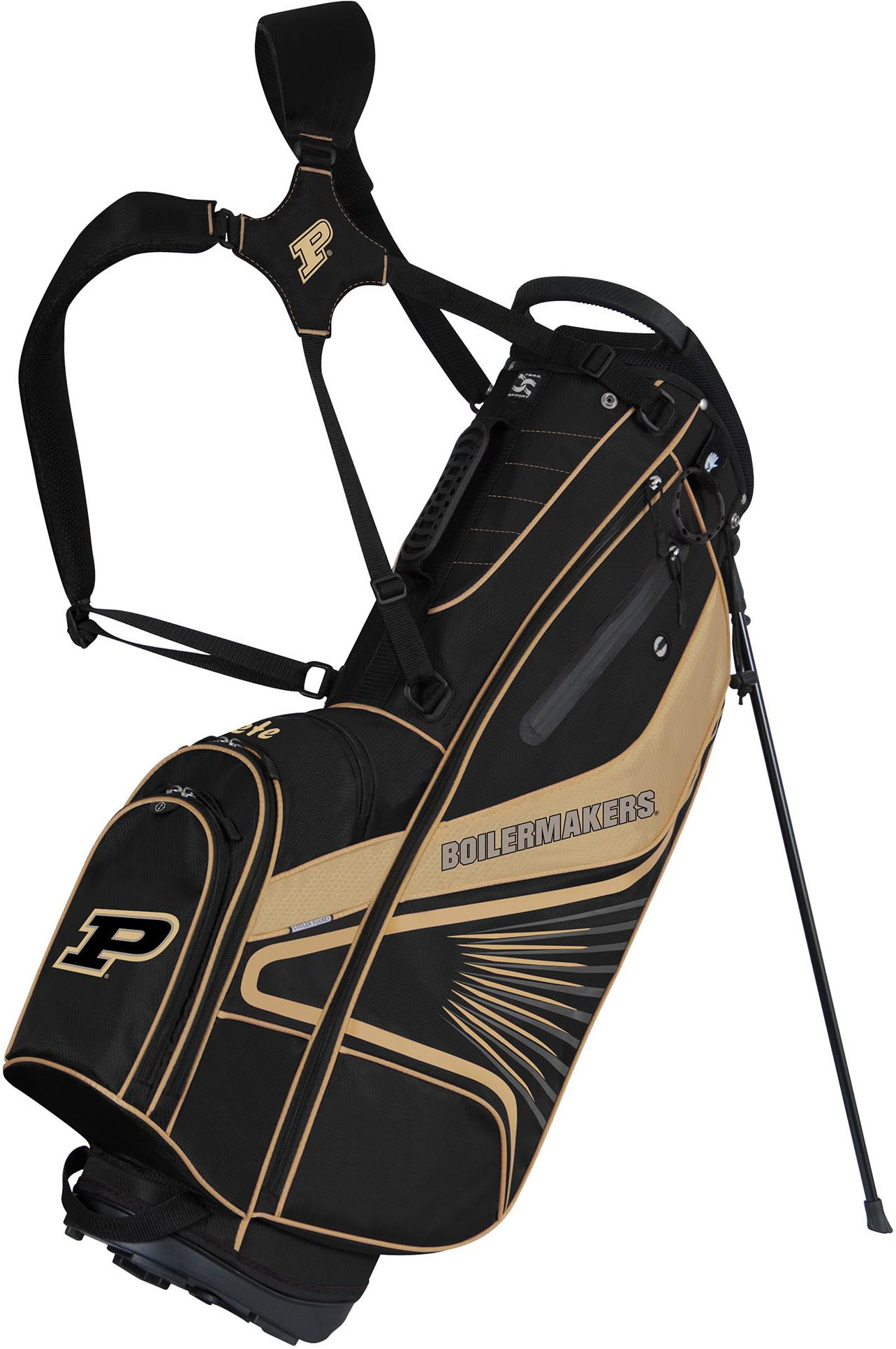 Team Effort Purdue Boilermakers Gridiron Iii Stand Bag