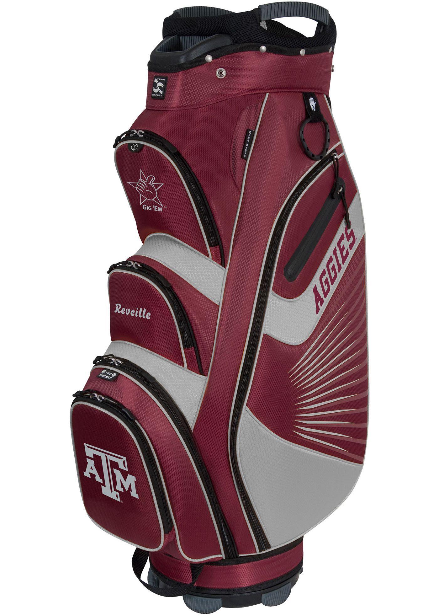 Team Effort The Bucket II Texas A&M Aggies Cooler Cart Bag