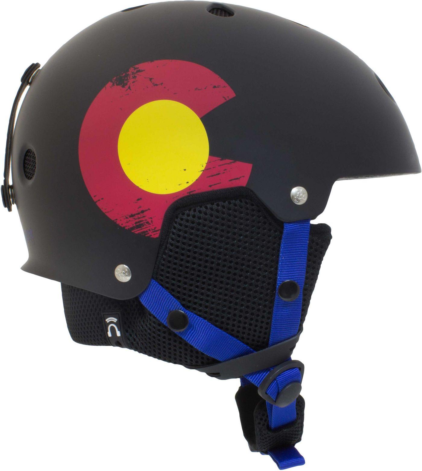 Triple Eight Colorado Flag Edition Snow Helmet
