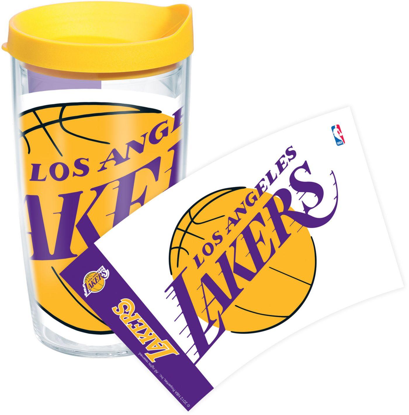 Tervis Los Angeles Lakers 16 oz Yellow Wrap Tumbler