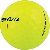Top Flite D2+ Distance Yellow Golf Balls – 15 Pack