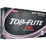 Top Flite Women's D2+ Diva Pearlescent Golf Balls ? 15 Pack