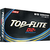 Top Flite D2+ Straight Golf Balls ? 15 Pack