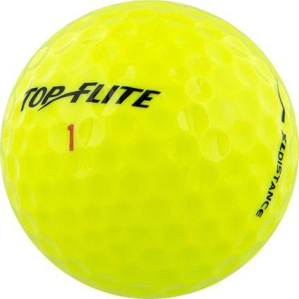 Top Flite XL Distance Yellow Golf Balls – 18 Pack