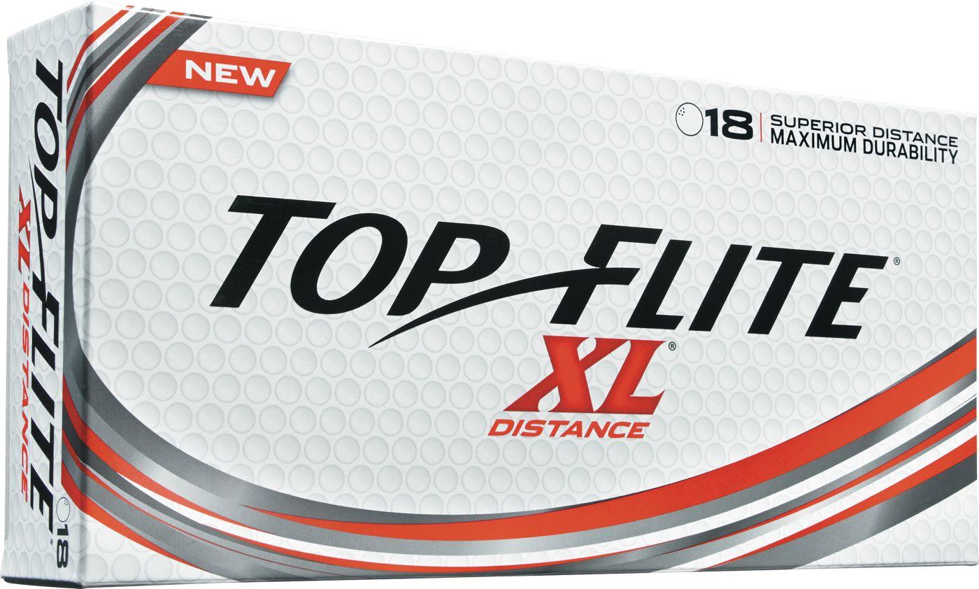Top Flite XL Distance Golf Balls – 18 Pack
