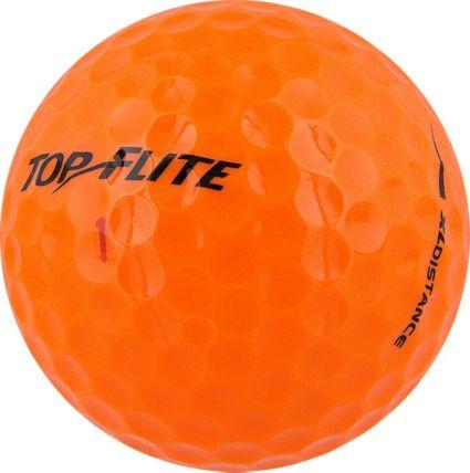 Top Flite XL Distance Orange Golf Balls – 18 Pack