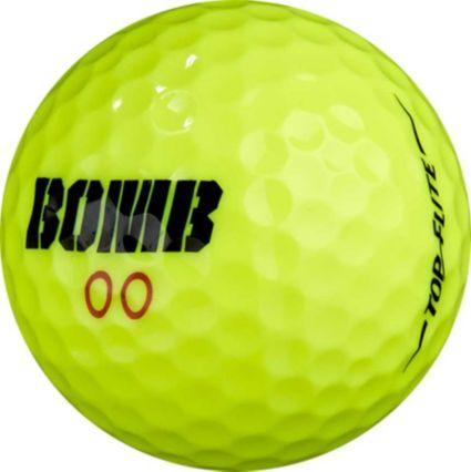 Top Flite Bomb Yellow Golf Balls - 24 Pack
