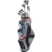 Top Flite Women's 2017 XL 12-Piece Complete Set – (Graphite) – Pink