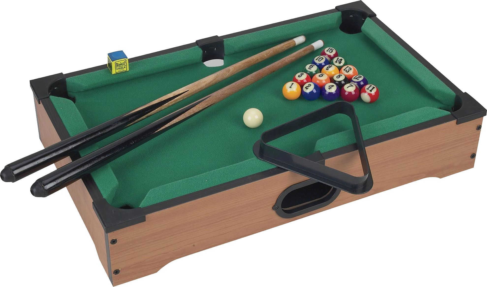 Superieur Trademark Games Mini Tabletop Pool Table