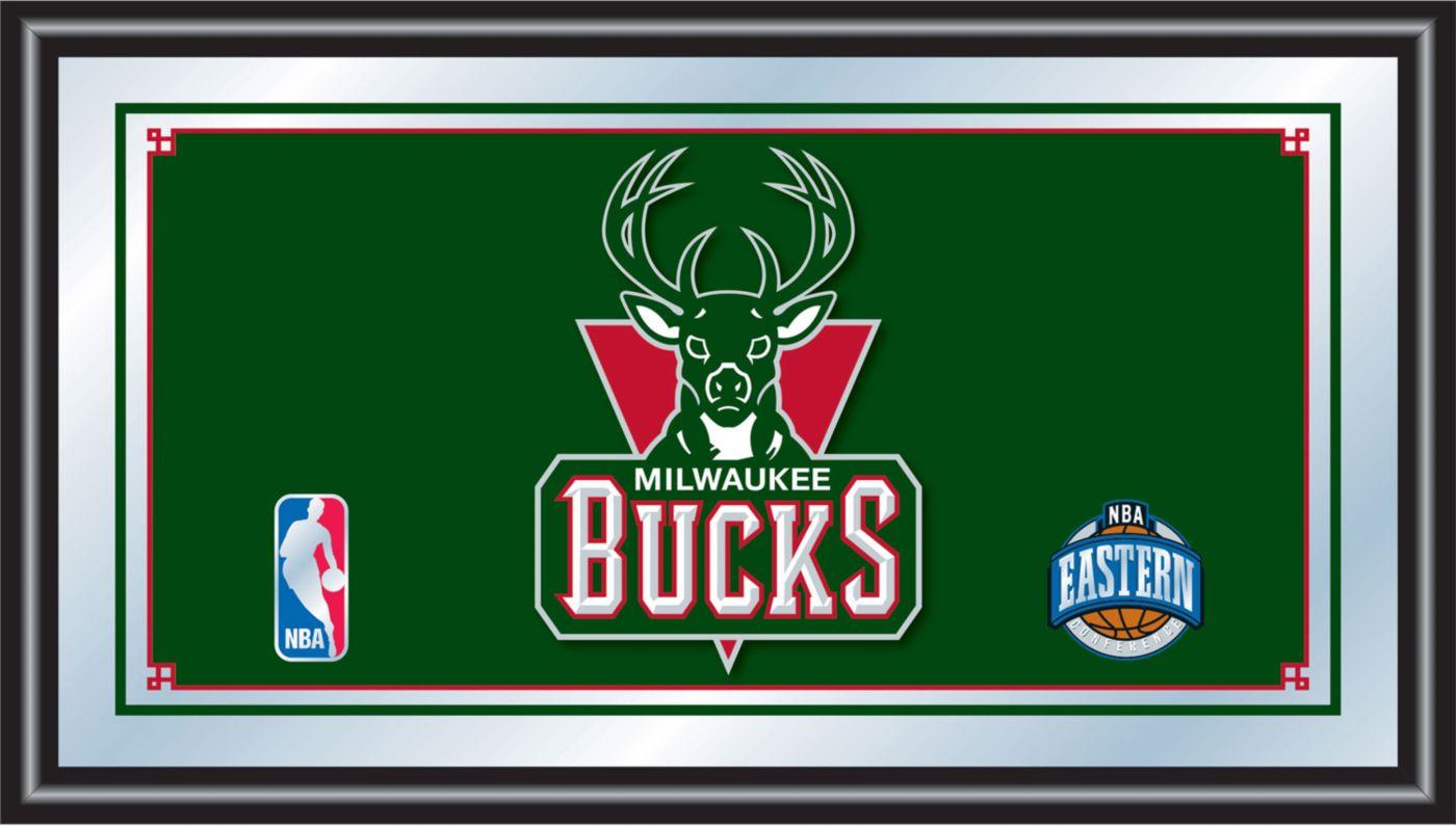 Trademark Games Milwaukee Bucks Framed Mirror