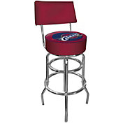 Trademark Games Cleveland Cavaliers Padded Swivel Bar Stool with Back