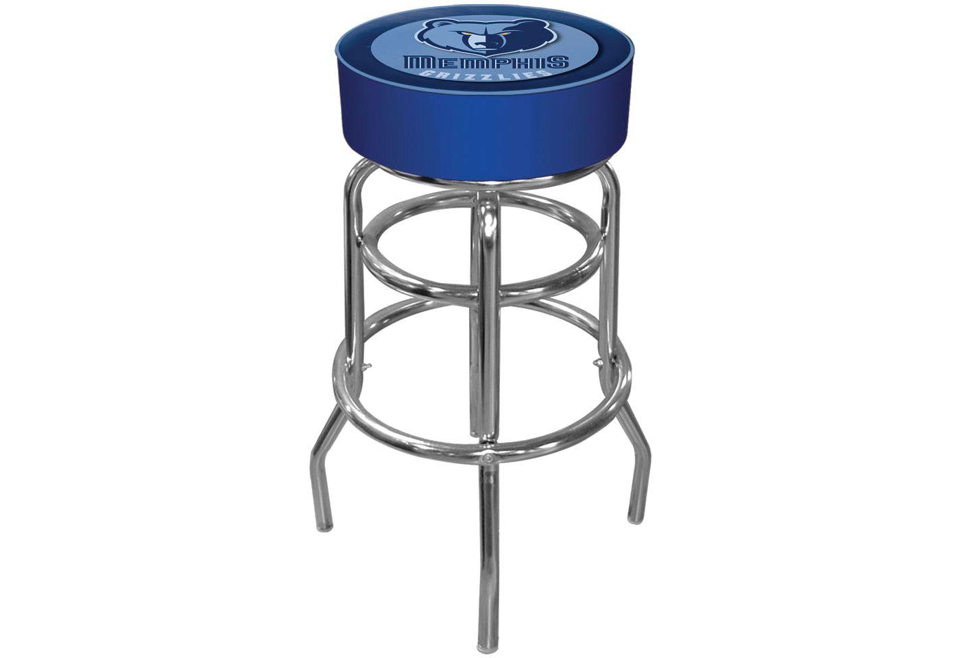 Trademark Games Memphis Grizzlies Padded Bar Stool