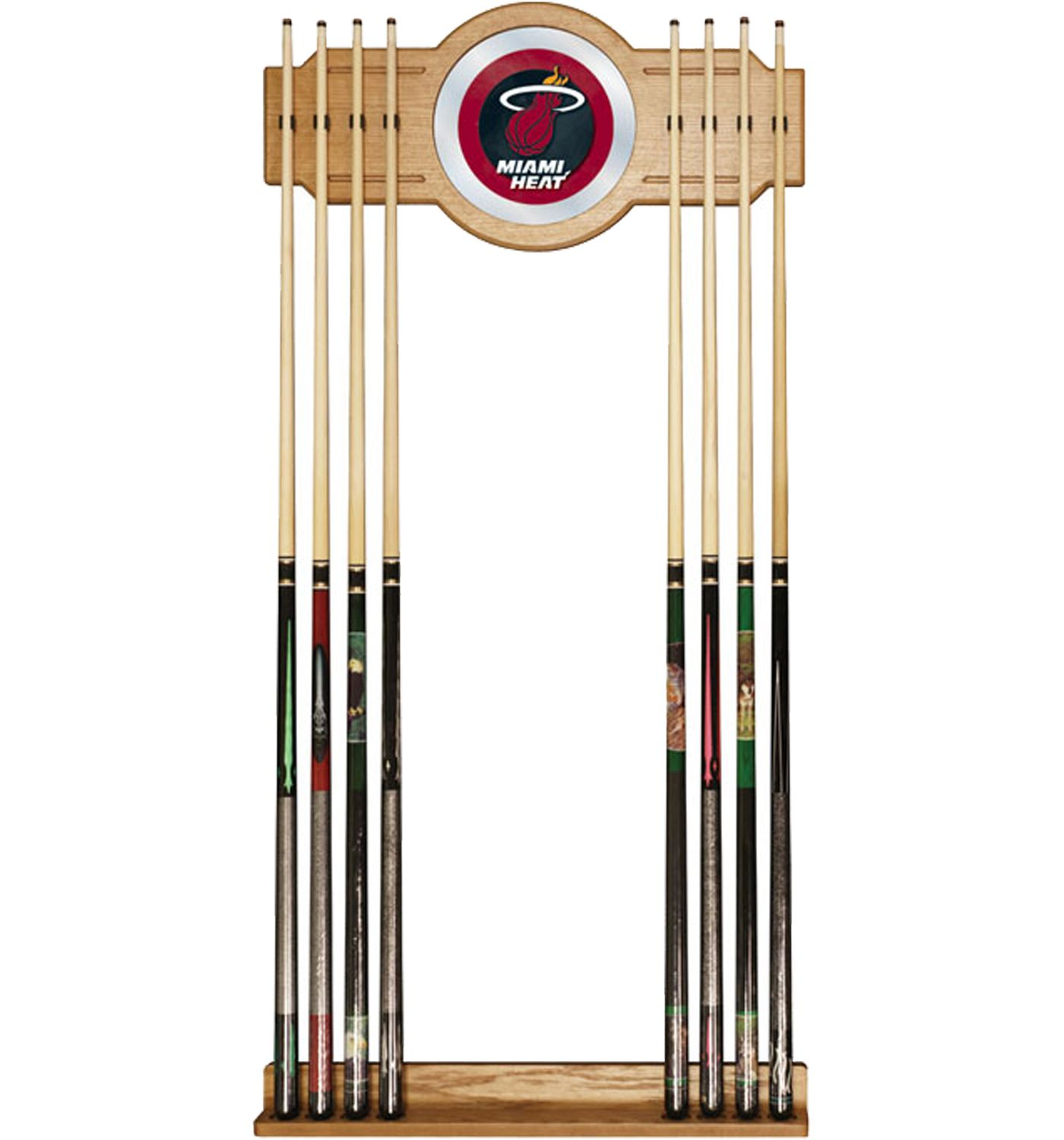 Trademark Games Miami Heat Cue Rack