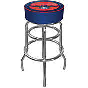 Trademark Games Atlanta Hawks Padded Bar Stool