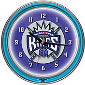 Trademark Games Sacramento Kings 14'' Neon Clock