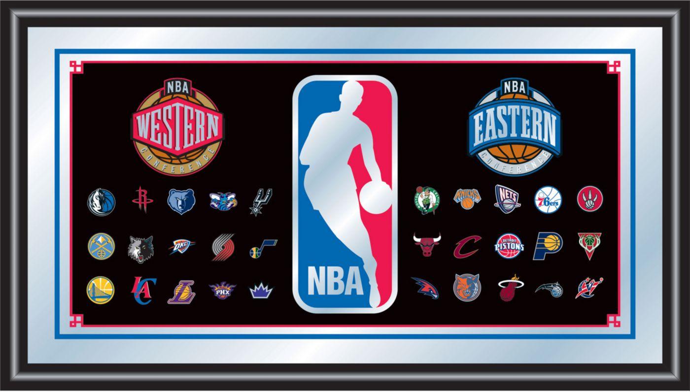 Trademark Games NBA Logo Mirror