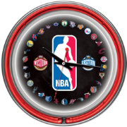 Trademark Games NBA League 14'' Neon Clock