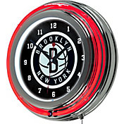 Trademark Games Brooklyn Nets 14'' Neon Clock