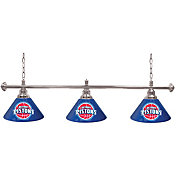 Trademark Games Detroit Pistons 60'' 3-Shade Billiard Lamp
