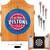 Trademark Games Detroit Pistons Dart Cabinet
