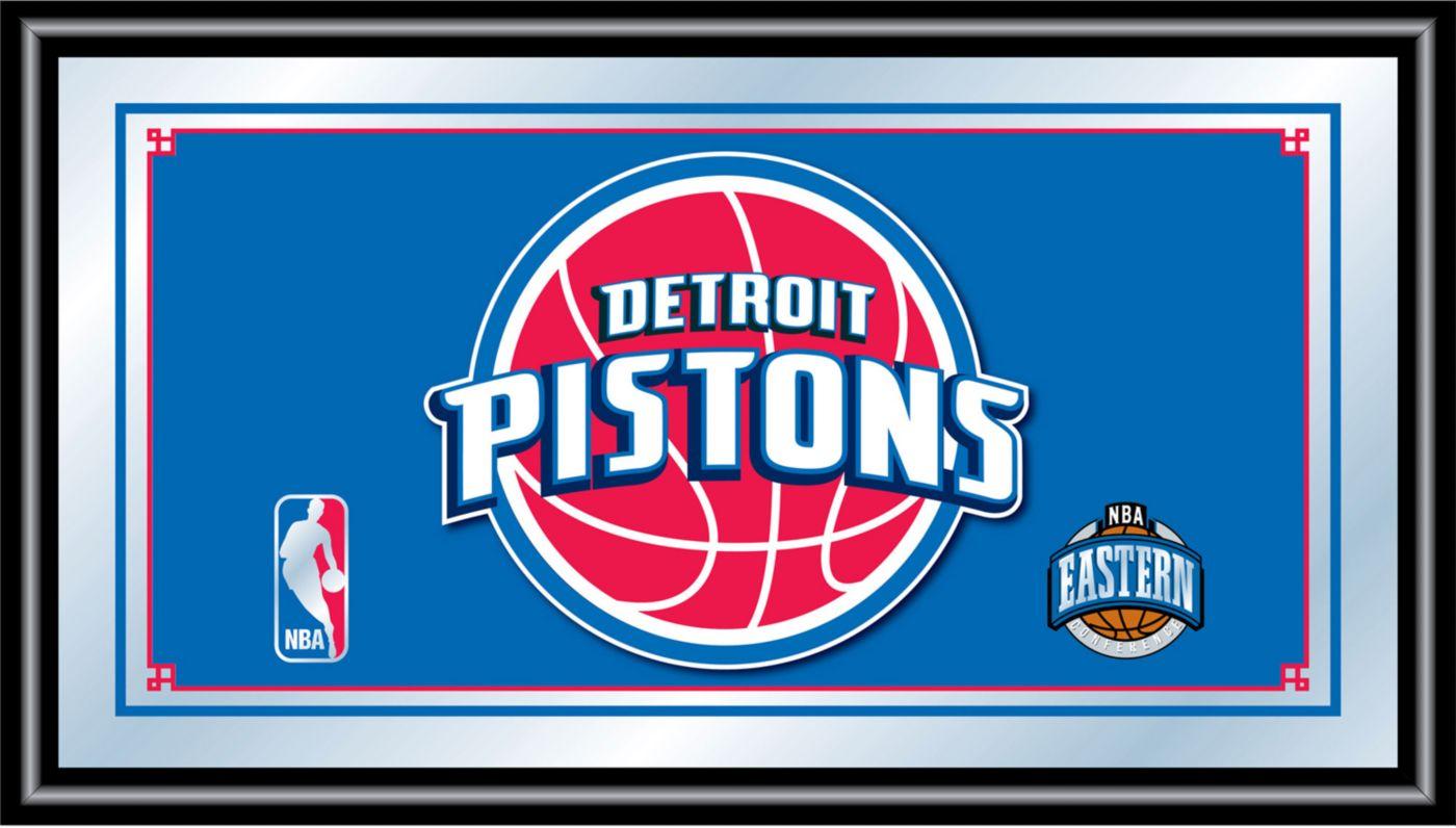 Trademark Games Detroit Pistons Framed Mirror