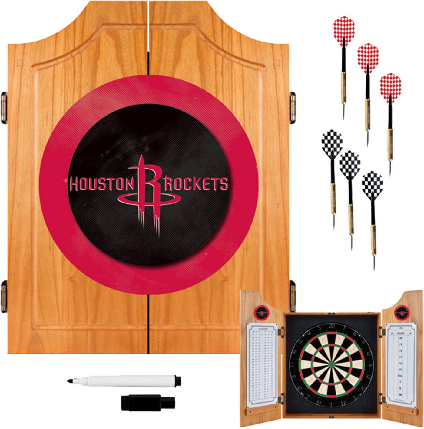 Trademark Games Houston Rockets Dart Cabinet