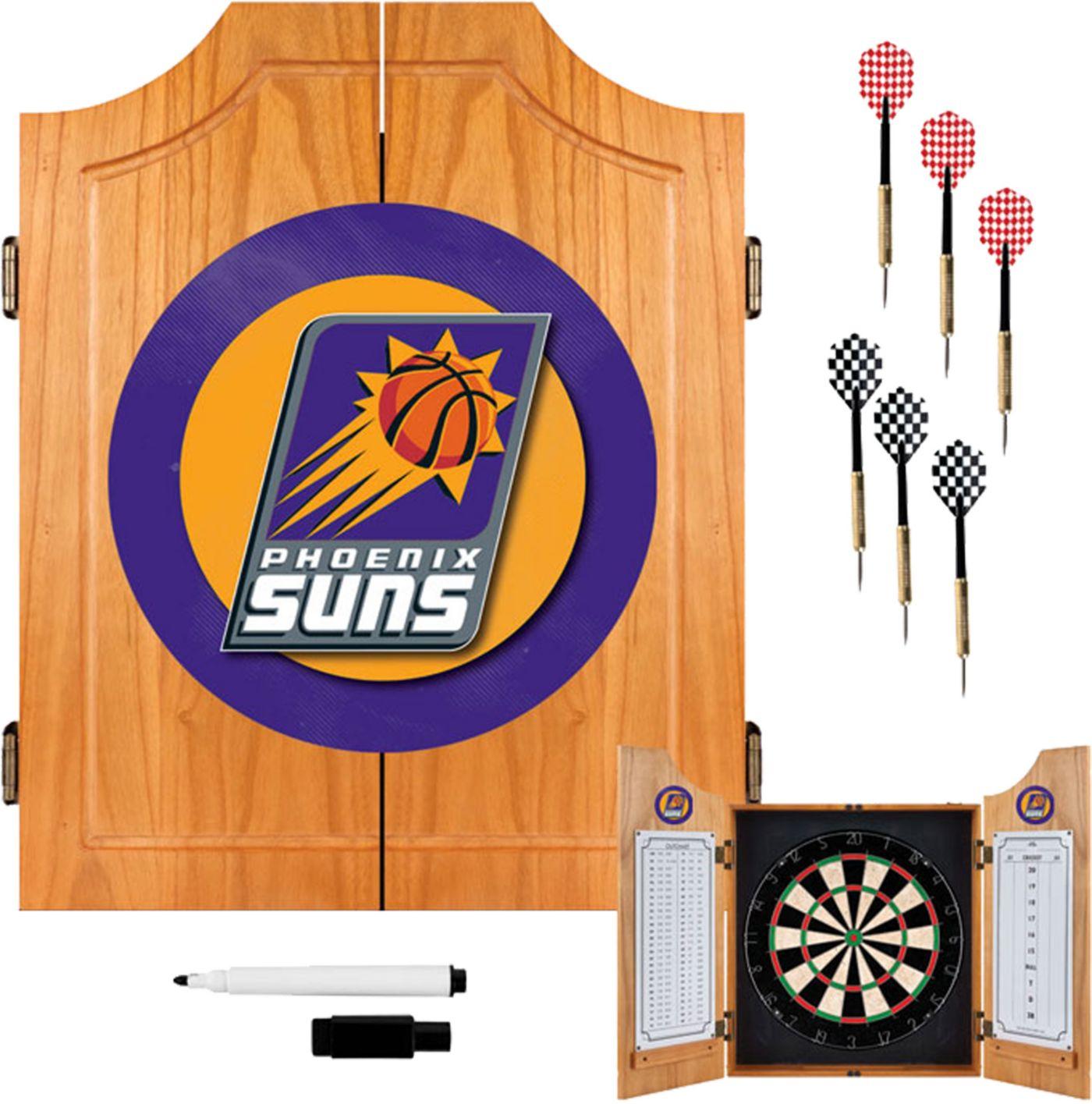 Trademark Games Phoenix Suns Dart Cabinet