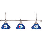 Trademark Games Philadelphia 76ers 60'' 3-Shade Billiard Lamp