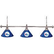 Trademark Games Philadelphia 76ers 60'' 3-Shade Billiard Lamp