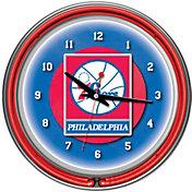 Trademark Games Philadelphia 76ers 14'' Neon Clock