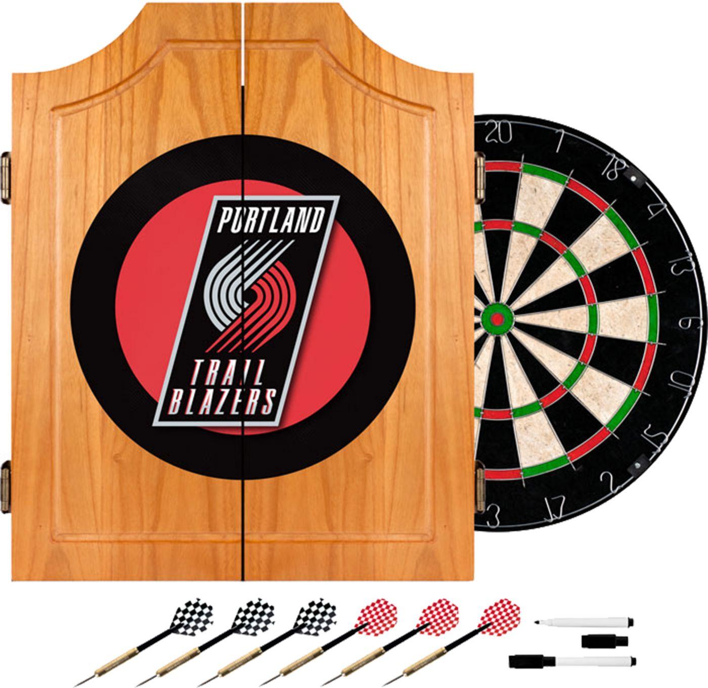 Trademark Games Portland Trail Blazers Dart Cabinet