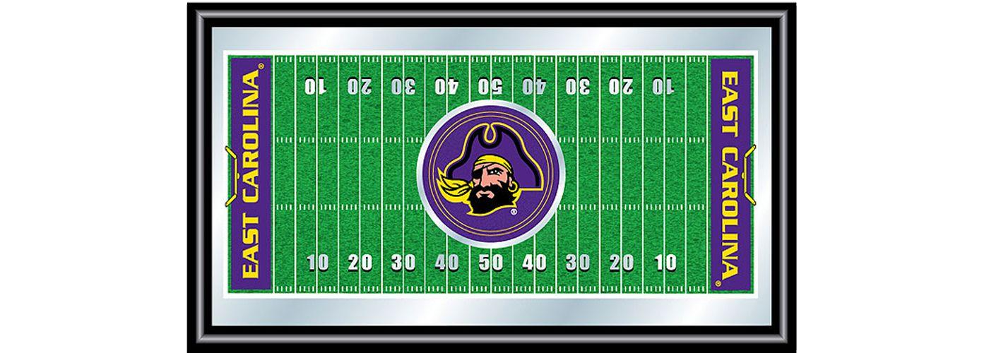 Trademark Games East Carolina Pirates Framed Football Field Mirror