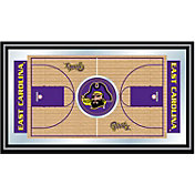 Trademark Games East Carolina Pirates Basketball Framed Full Court Mirror