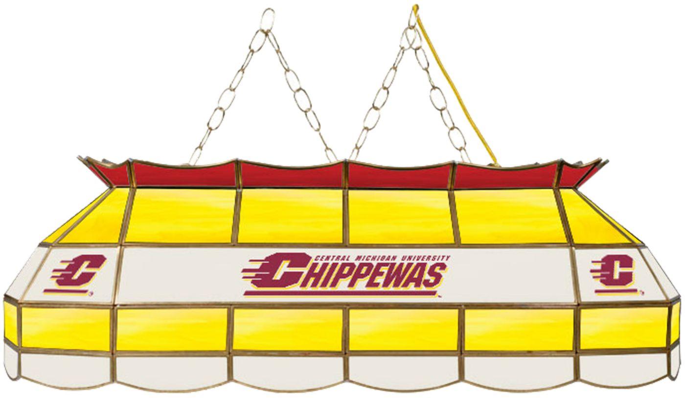 Trademark Games Central Michigan Chippewas 40'' Tiffany Lamp