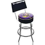 Trademark Games East Carolina Pirates Padded Swivel Bar Stool with Back