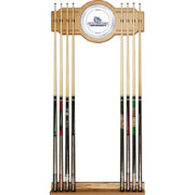 Trademark Games Gonzaga Bulldogs 2-Piece Wood and Mirror Wall Cue Rack