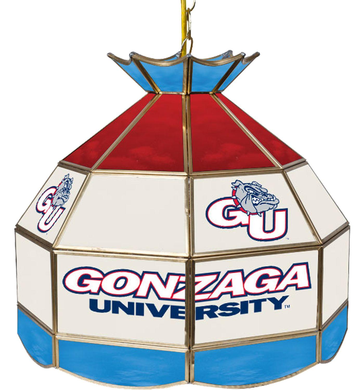 Trademark Games Gonzaga Bulldogs 40'' Tiffany Lamp