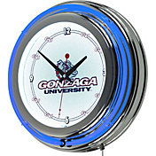 Trademark Games Gonzaga Bulldogs 14'' Neon Clock