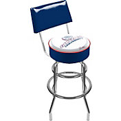 Trademark Games Gonzaga Bulldogs Padded Swivel Bar Stool with Back
